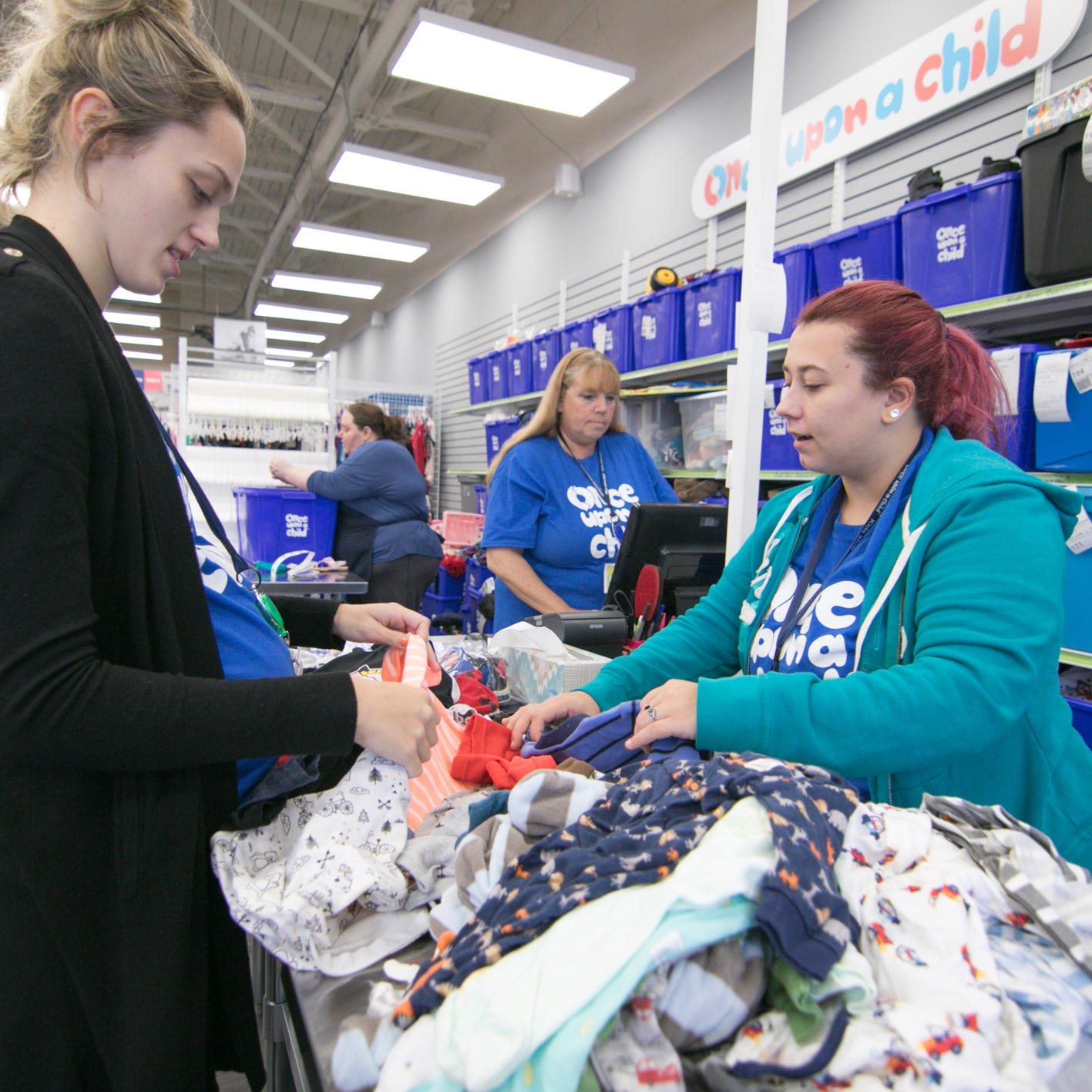 Once Upon a Child store opening in Brighton, buying used clothes and toys