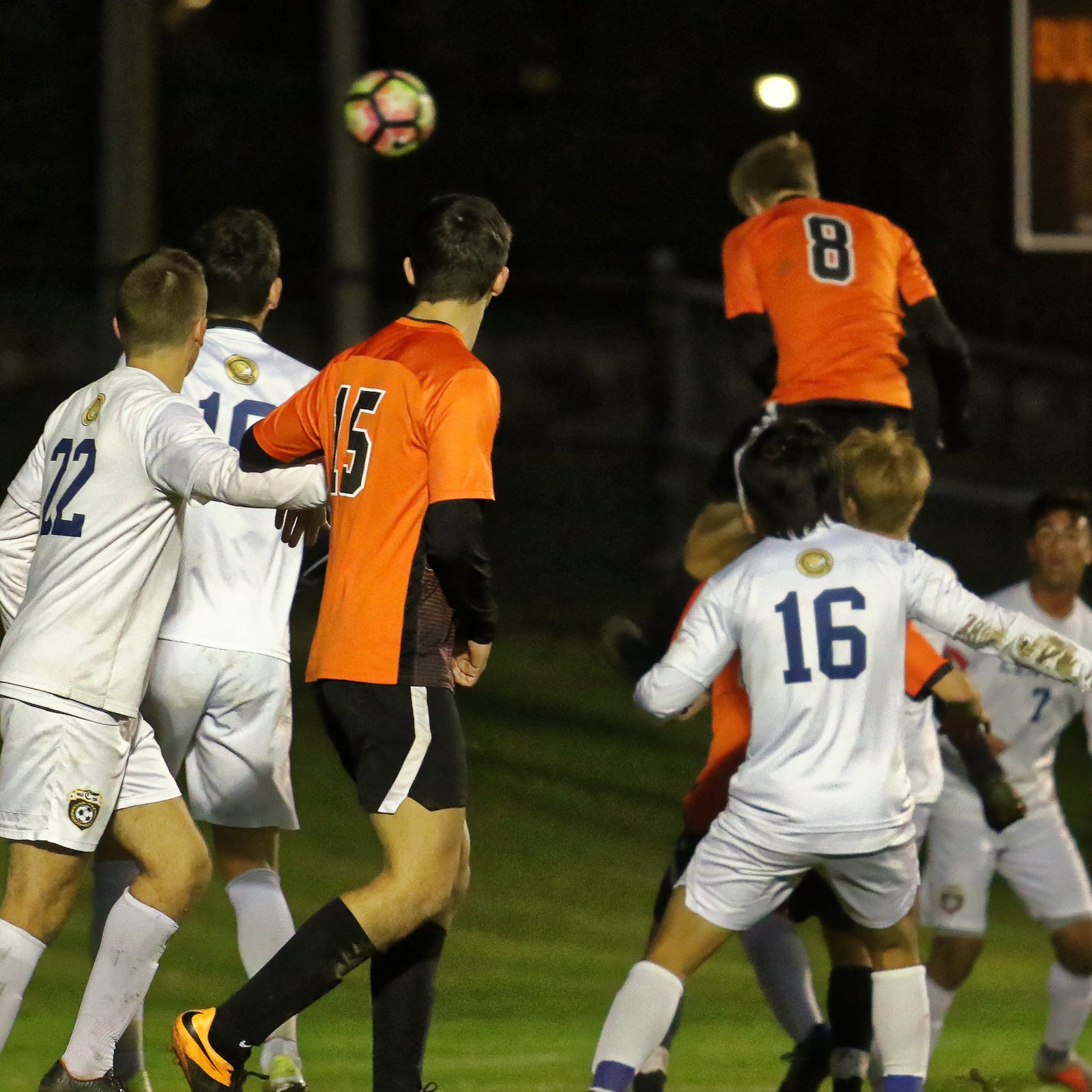 Brighton soccer advances as Charlie Sharp's header barely squeaks in
