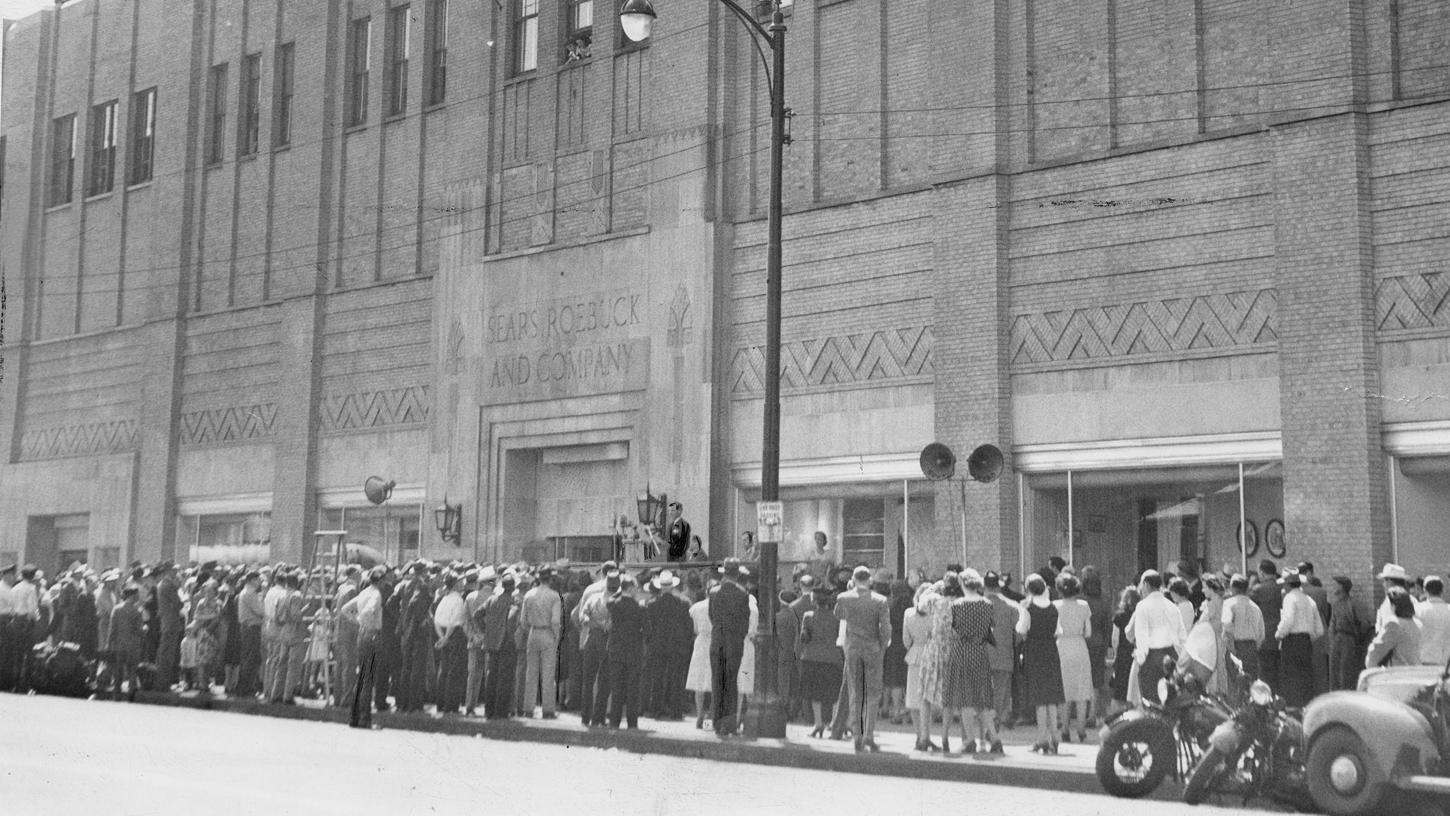When downtown Sears opened, it was the Amazon of 1929. And it was huge