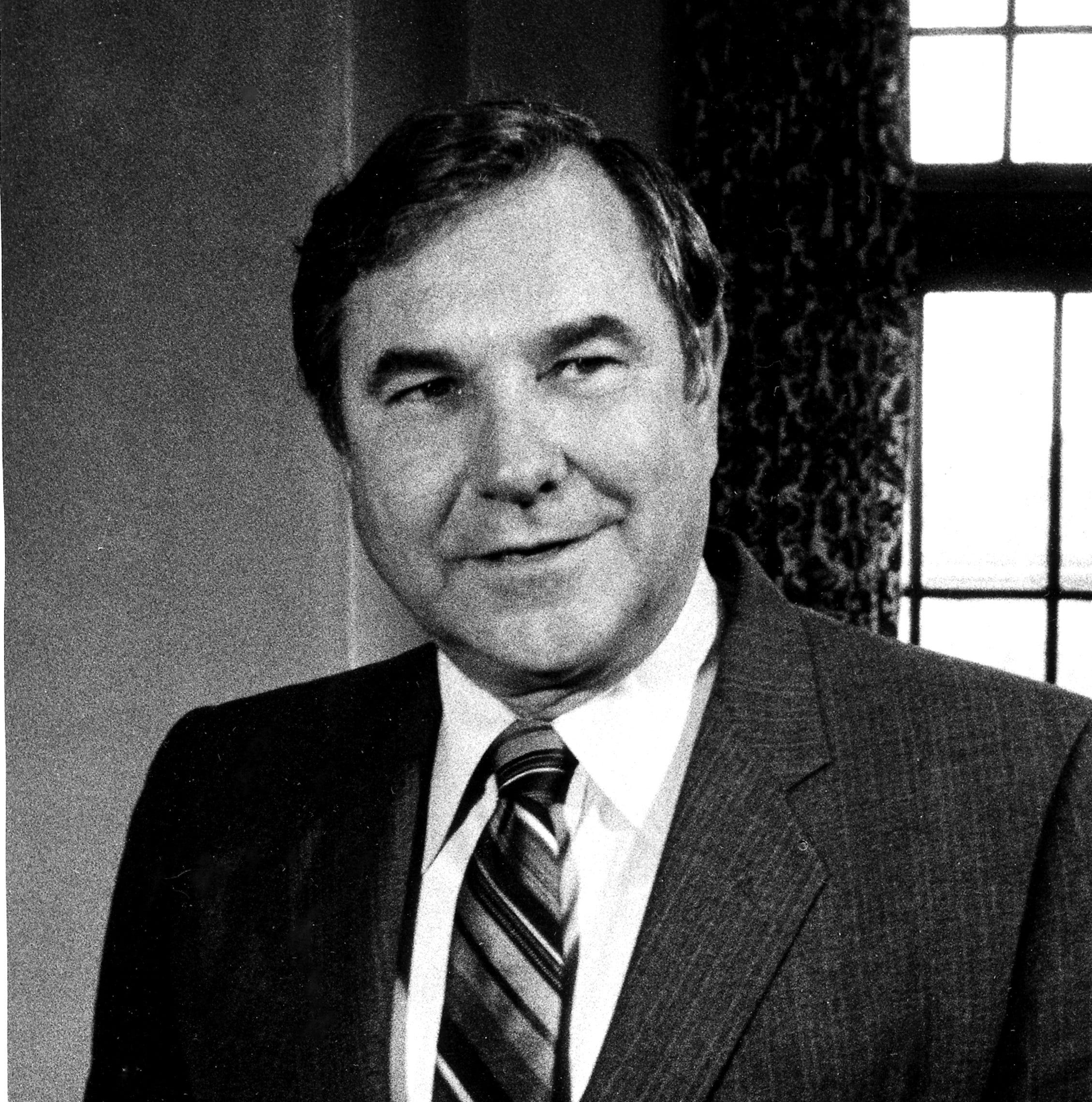 "U. S. Senator Walter ""Dee"" Huddleston"