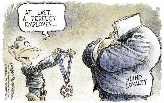 One of the cartoons from Nick Anderson's Pulitzer Prize entry.