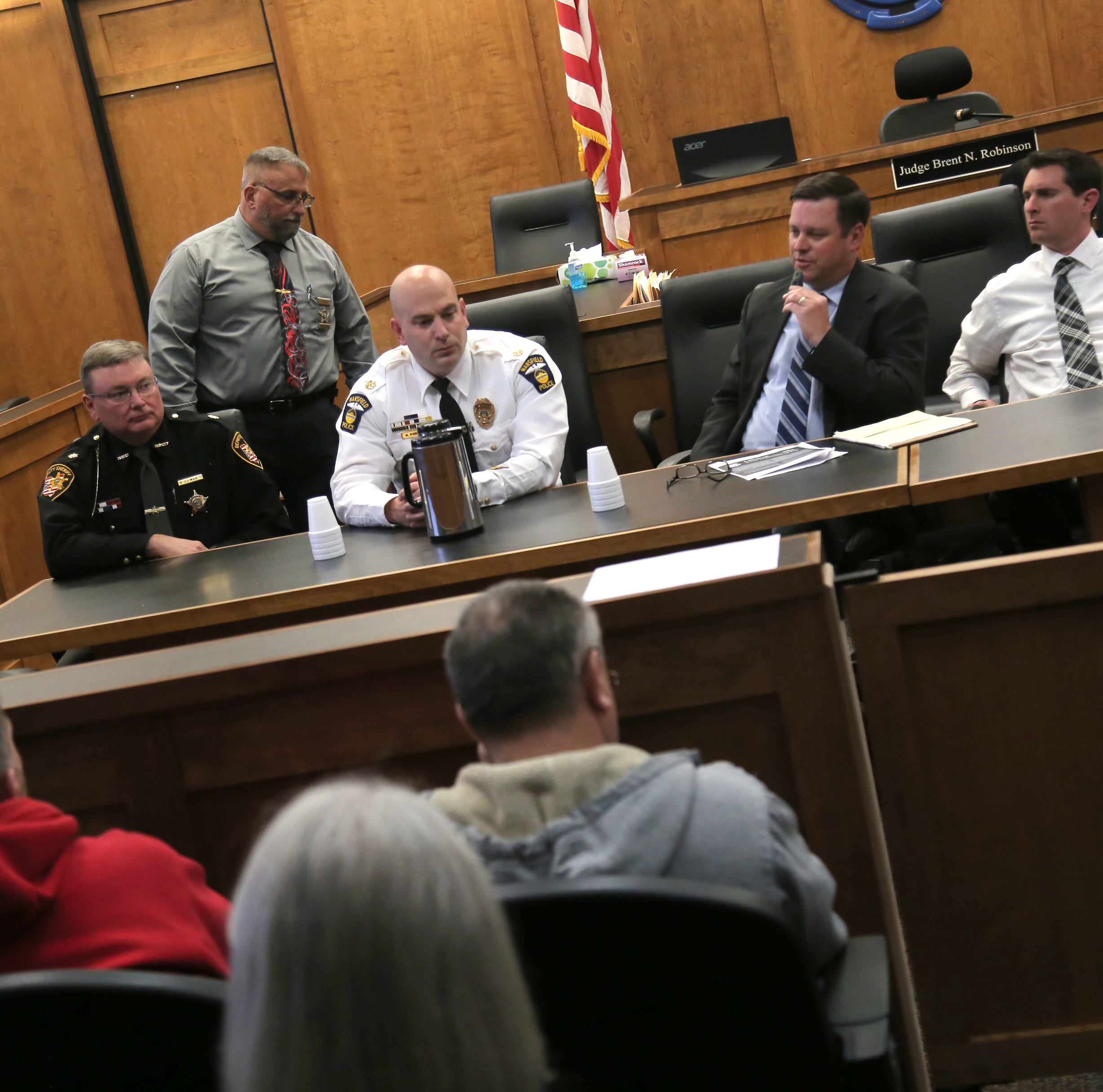 Common Pleas Judge Robinson hosts town hall on Issue 1