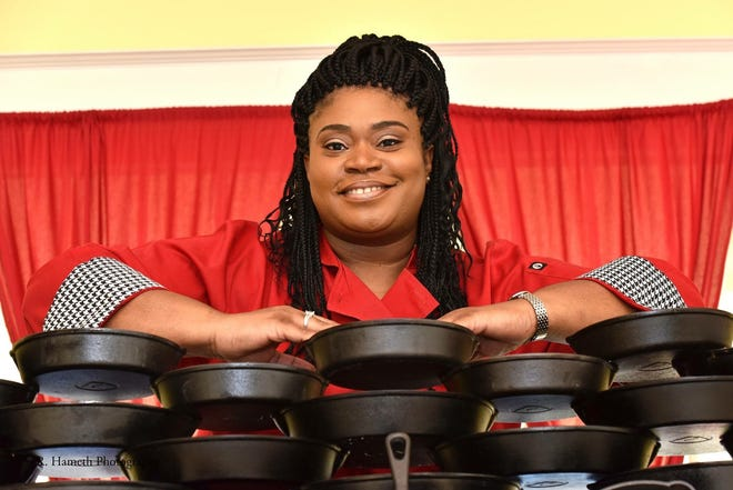 Chef Tamra Patterson of Chef Tam's Underground Cafe.