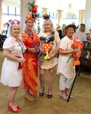Costume winners Jaye Spencer, Michele Senda, Caitlyn Robinson and Jan Zilch.