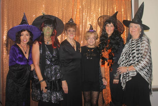 Marge Superits, Bobbie Ordejia, Pam Clune, Pat Dugas, Susie Walsh and Hildie Kyes are boo-tiful.