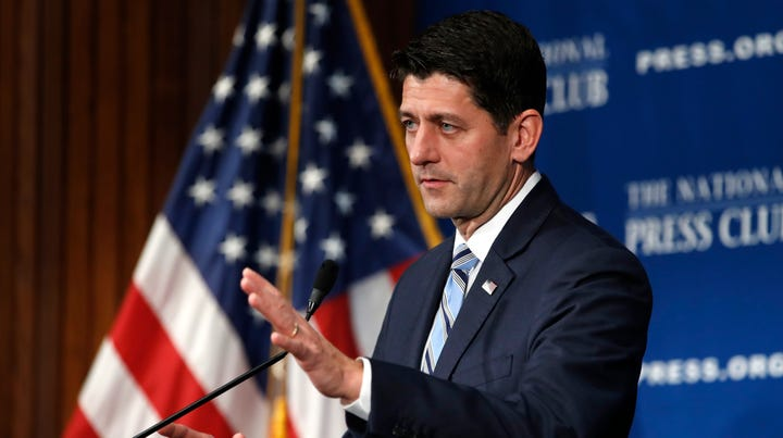 Paul Ryan joins American Enterprise Institute as distinguished visiting fellow