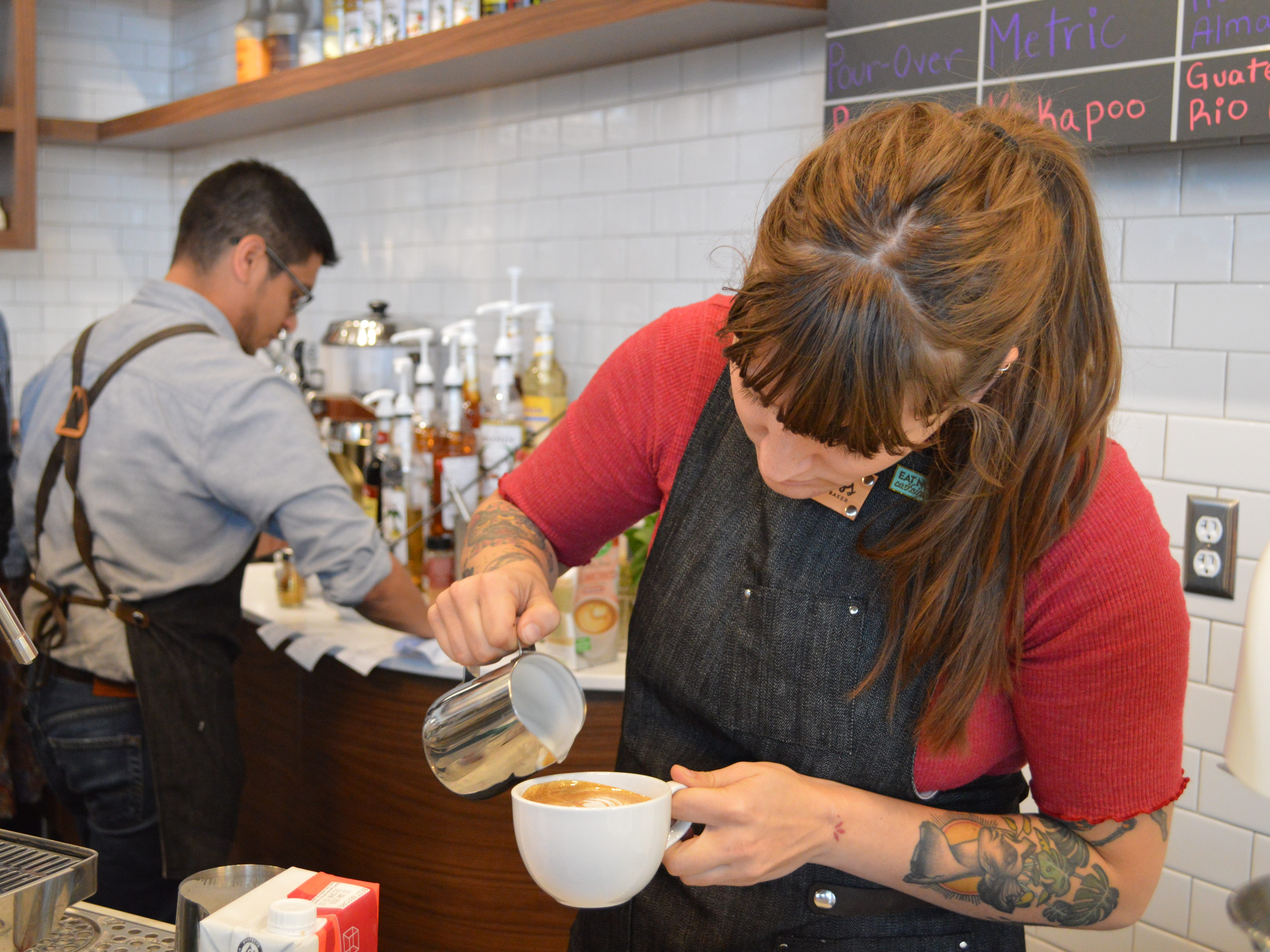 Georgia Tookey, consultant and trainer, said Brookfield is a coffee dessert, so Goddess and The Baker is filling a need the area doesn't have.