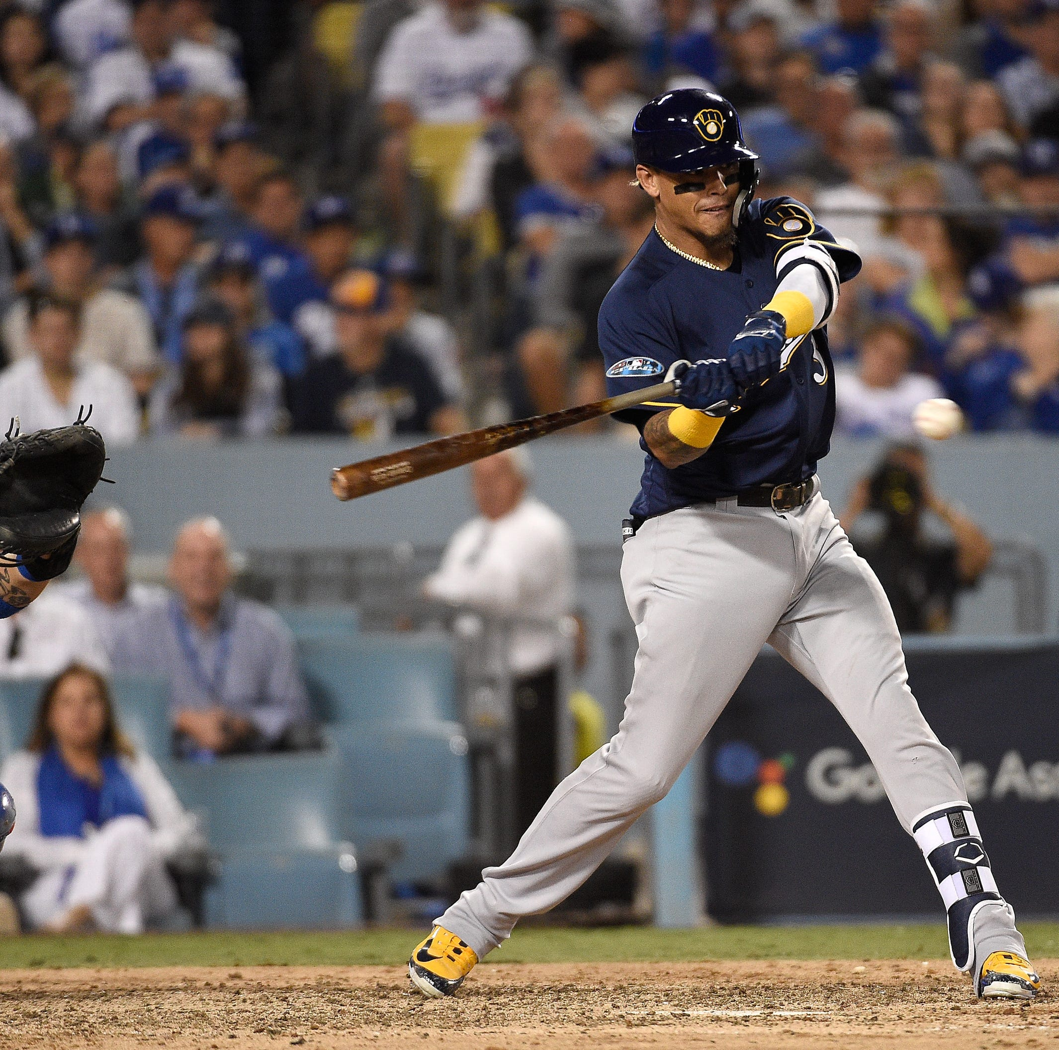 After a season of more downs than ups, Orlando Arcia has become Mr. October for Brewers