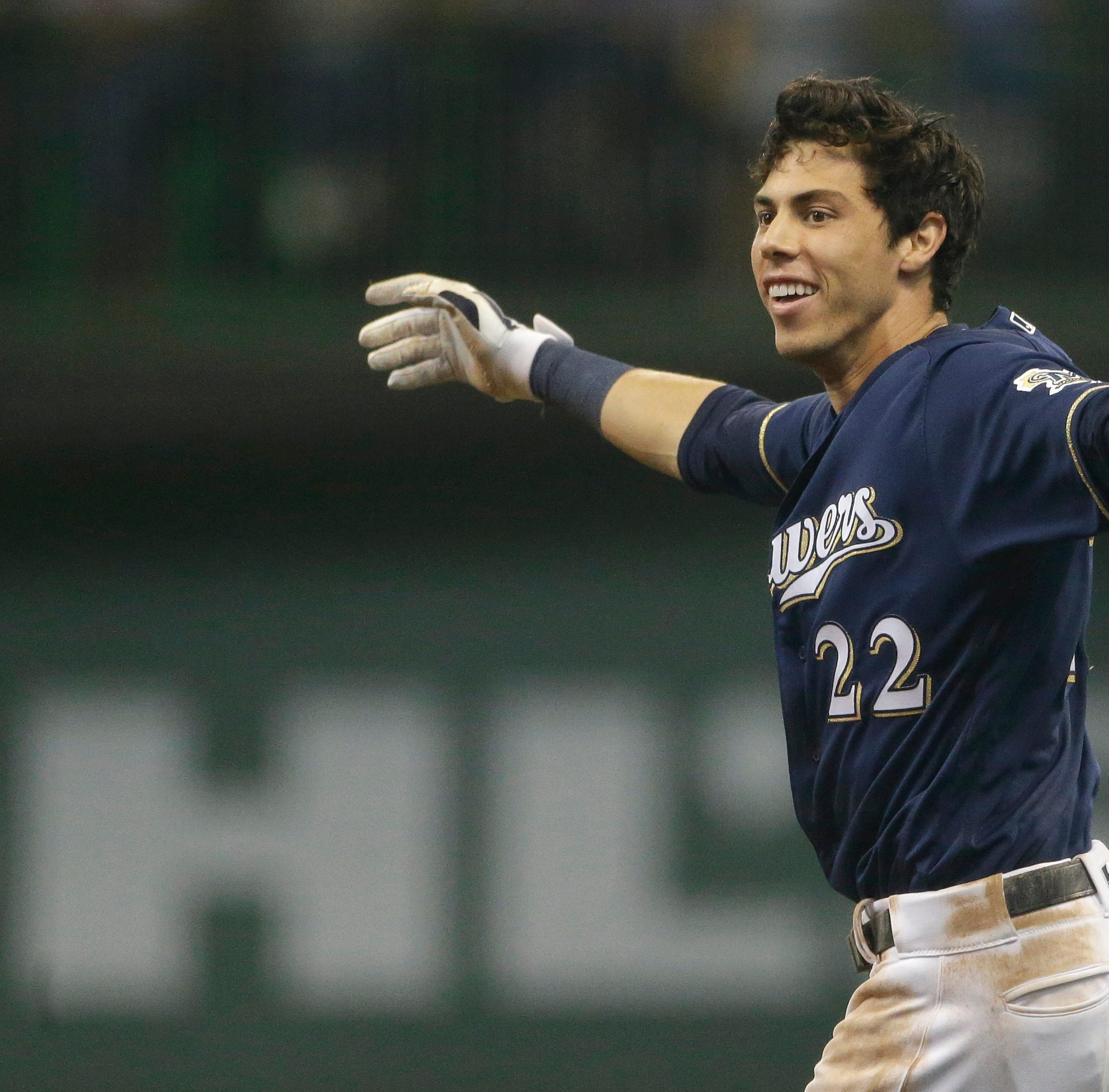 Notes: Christian Yelich arrives in camp, eager to get back to baseball