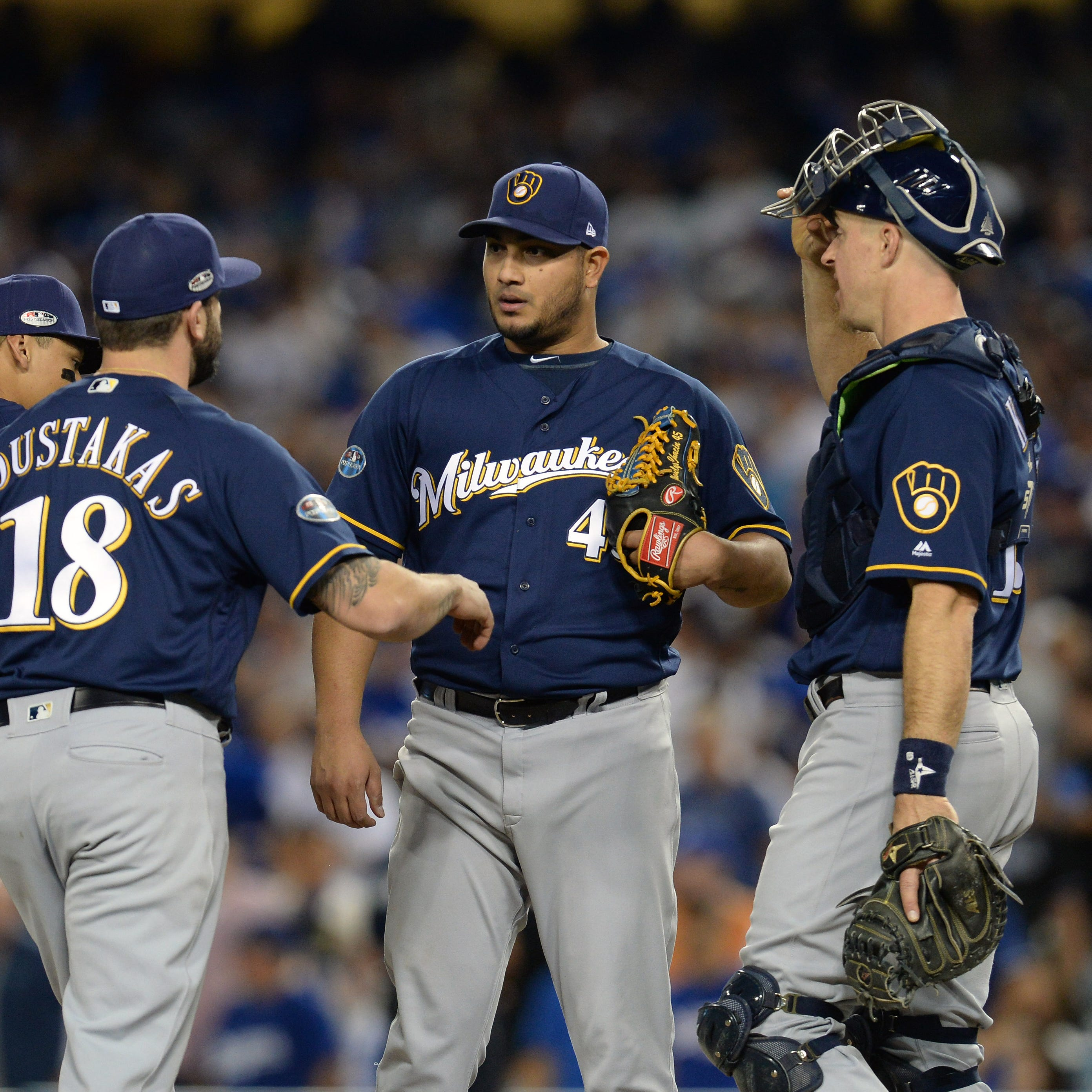 Haudricourt: Chacin delivers for Brewers again, and bullpen bounces back despite late scare
