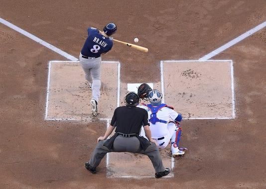 Ap Nlcs Brewers Dodgers Baseball 73752660
