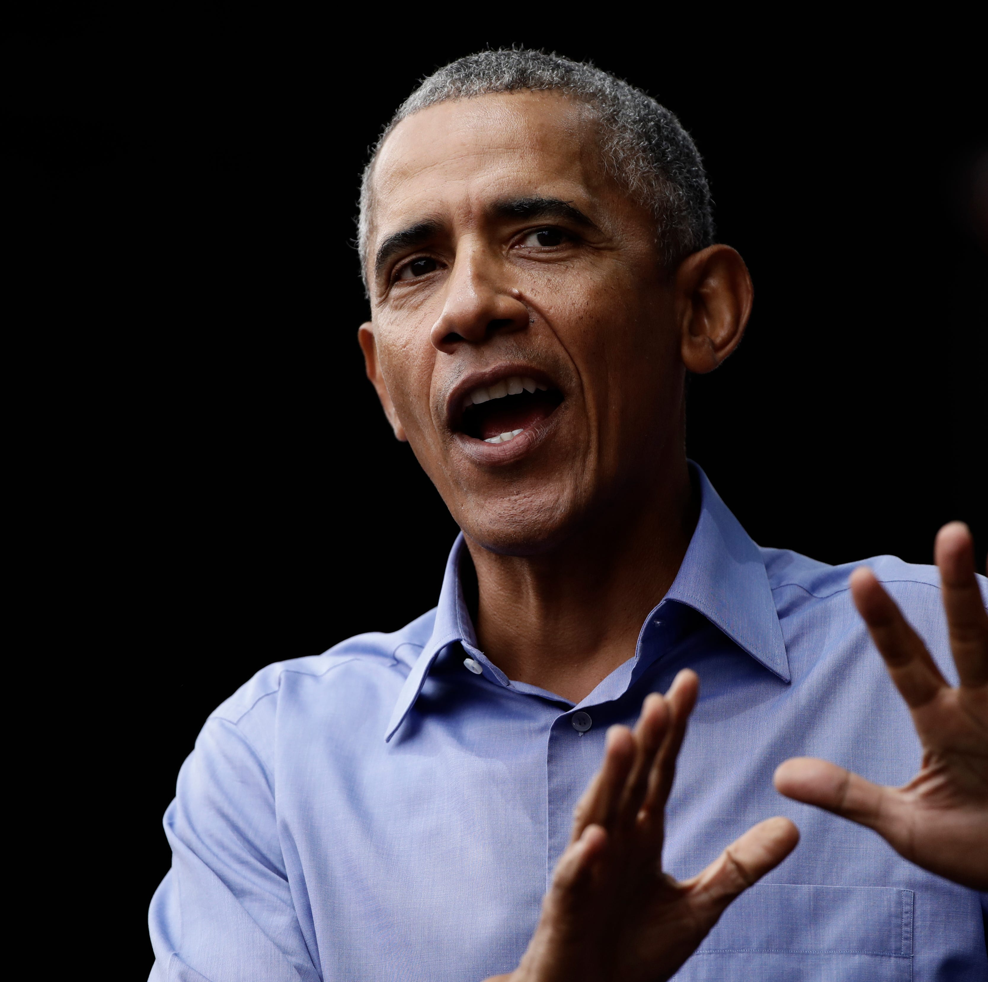 Live video: Former President Barack Obama leads campaign rally in Milwaukee for Democrats