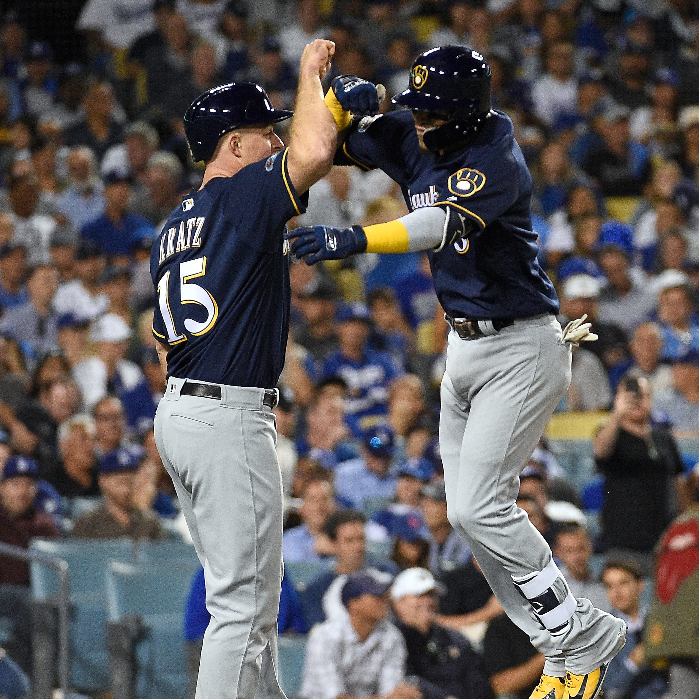 Brewers 4, Dodgers 0: A narrow escape for another shutout