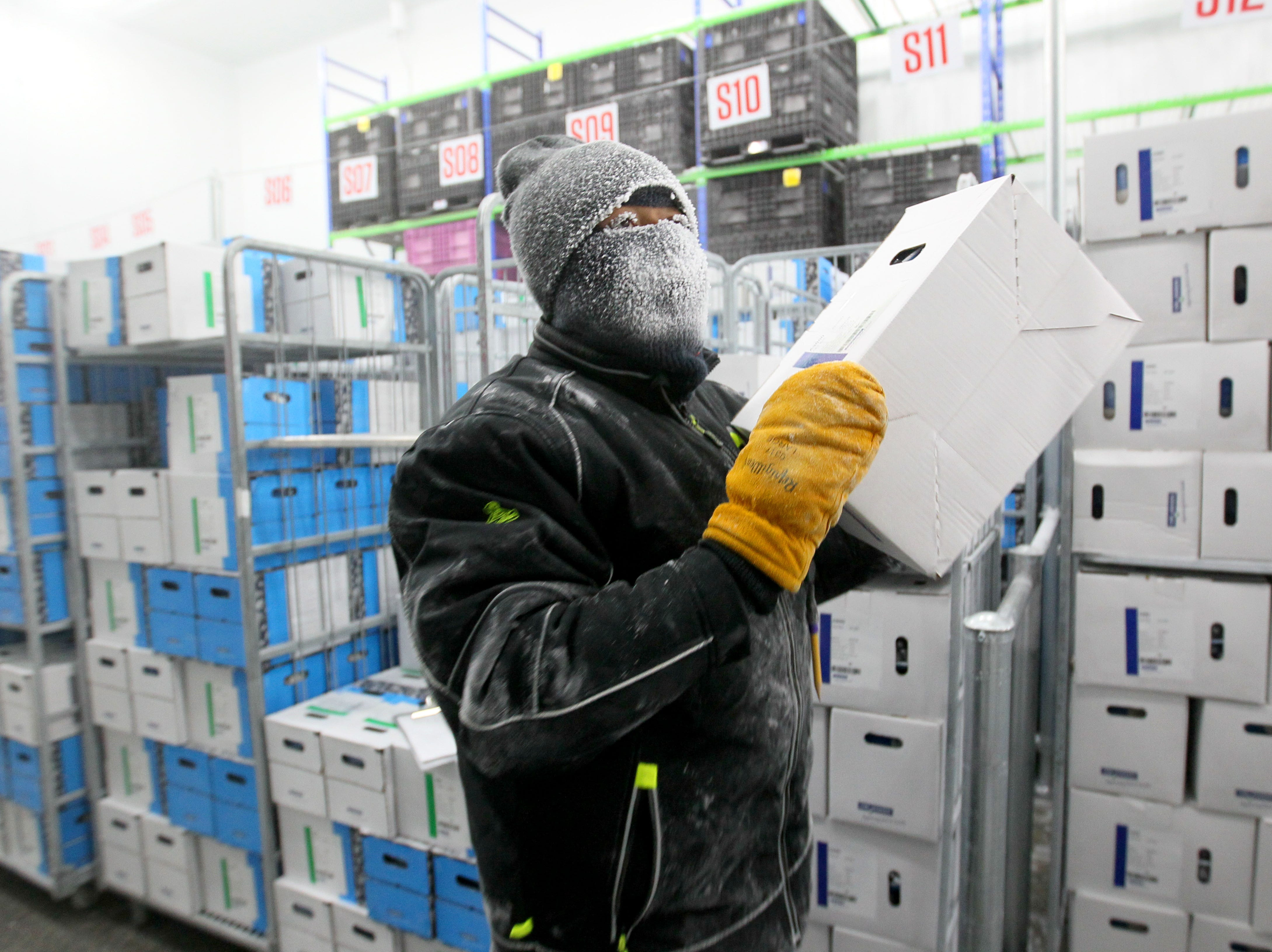 See inside one of the world's coldest workplaces in Wisconsin