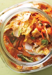 A traditional kimchi recipe is included in the Better Homes and Gardens New Cook Book.