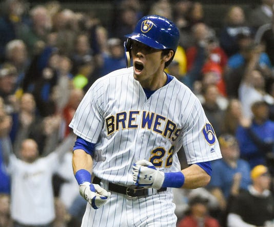 Mlb Detroit Tigers At Milwaukee Brewers