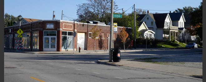A major development proposal at South Kinnickinnic Avenue and South Herman Street could include the former Bella's Fat Cat building and a vacant lot across the street.