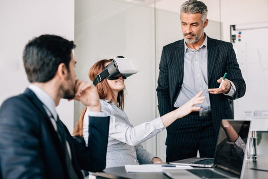 Companies are using mixed reality, simulations and gamification techniques to train and reskill employees.