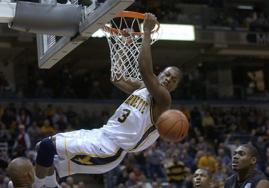 Dwyane Wade played for Marquette from 2001-'03.