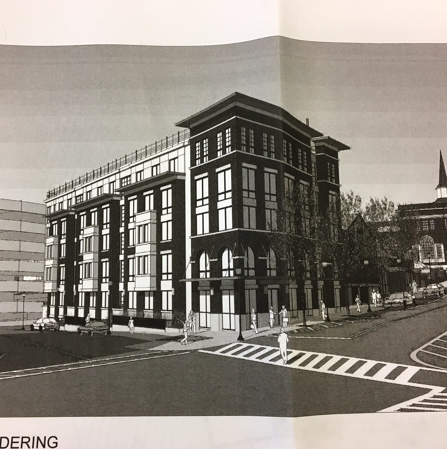 Five-story apartment building, retail space planned for Morristown