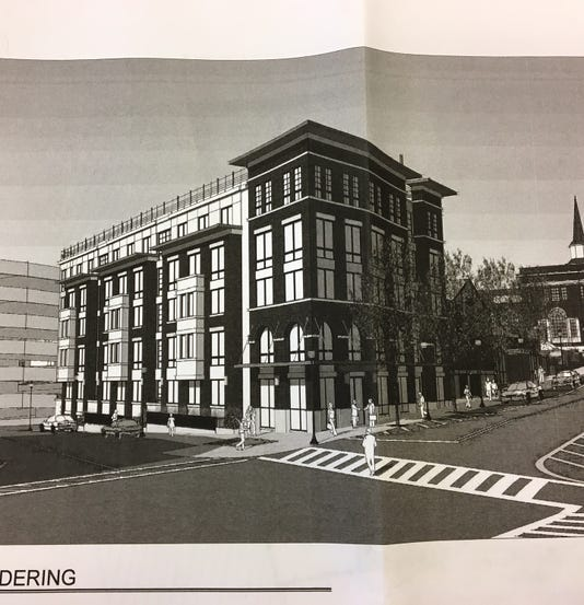 Five-story, 38-apartment Building Proposed For Vacant