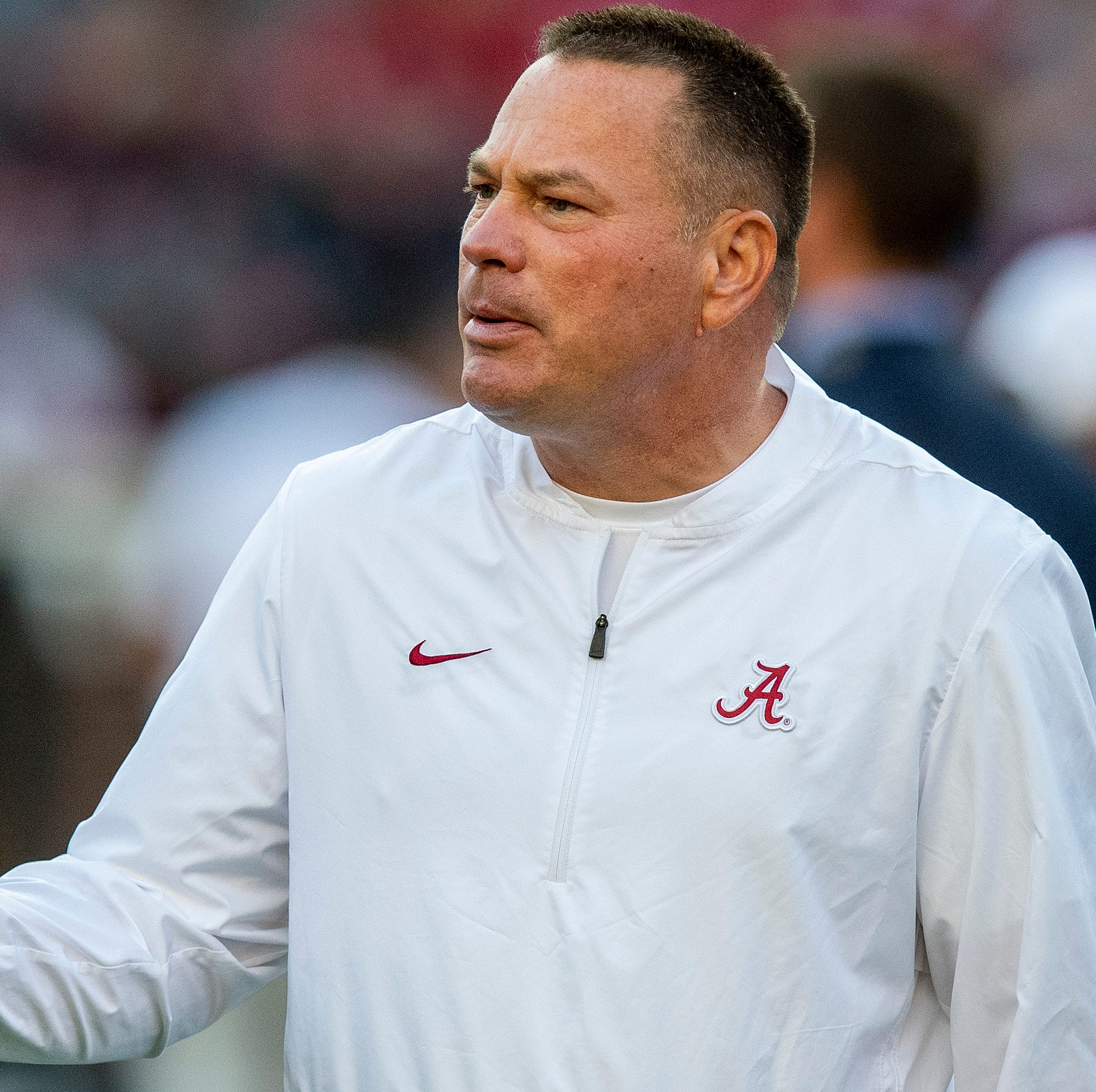 Alabama players tease ex-Tennessee coach Butch Jones about record vs. Tide