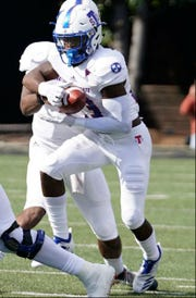 Te'kendrick Roberson is Tennessee State's leading rusher, but he is averaging only 45.8 yards per game and has not scored a touchdown.