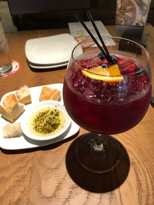Lunch isn't complete without a festive sangria.