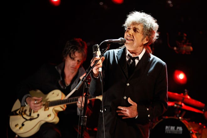 Bob Dylan, shown here in Albuquerque in recent years, performed Tuesday night in Fort Myers.