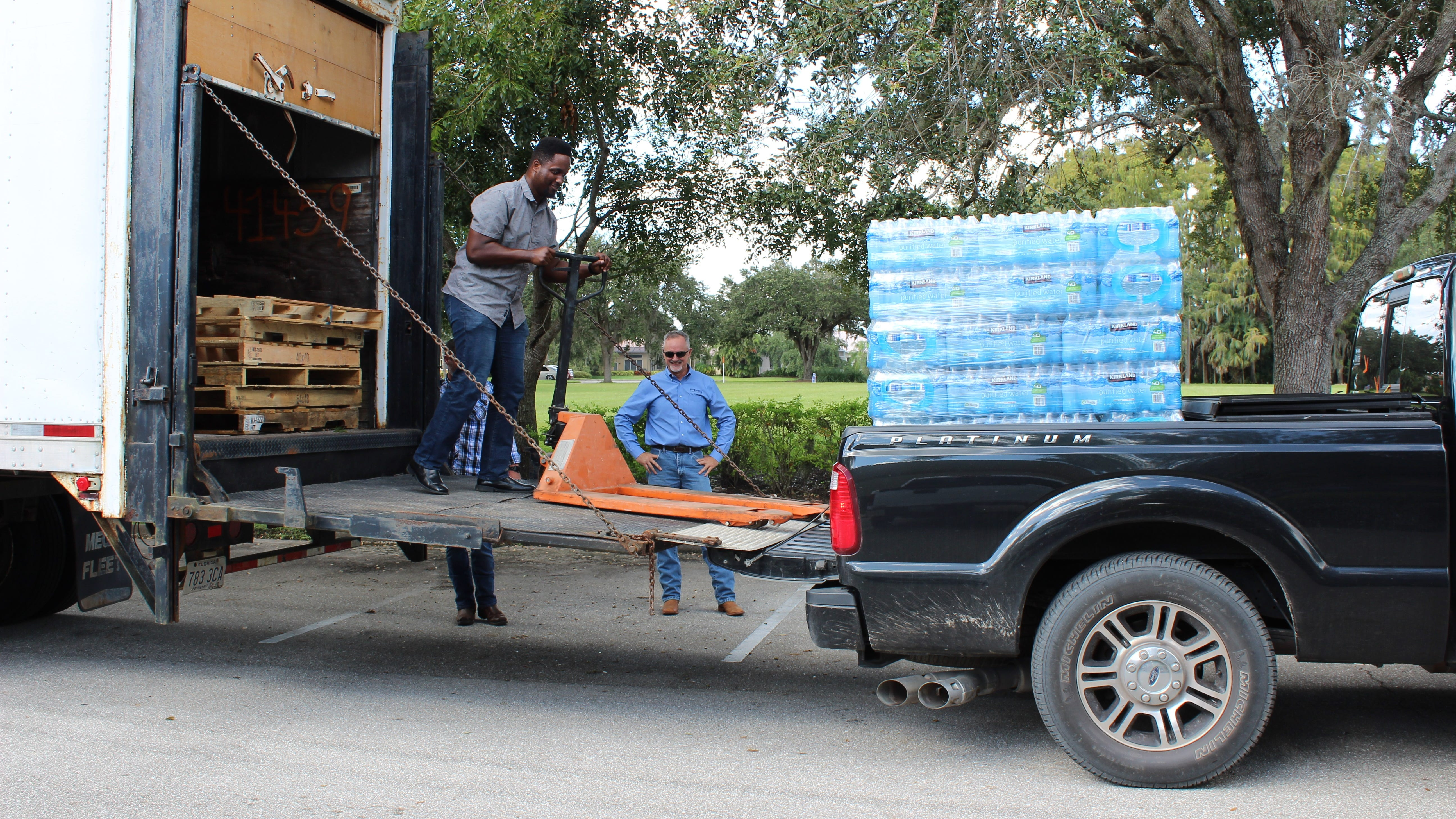 The contractor with offices in Naples and Fort Myers is gathering food and hurricane relief supplies to send to the Florida Panhandle.