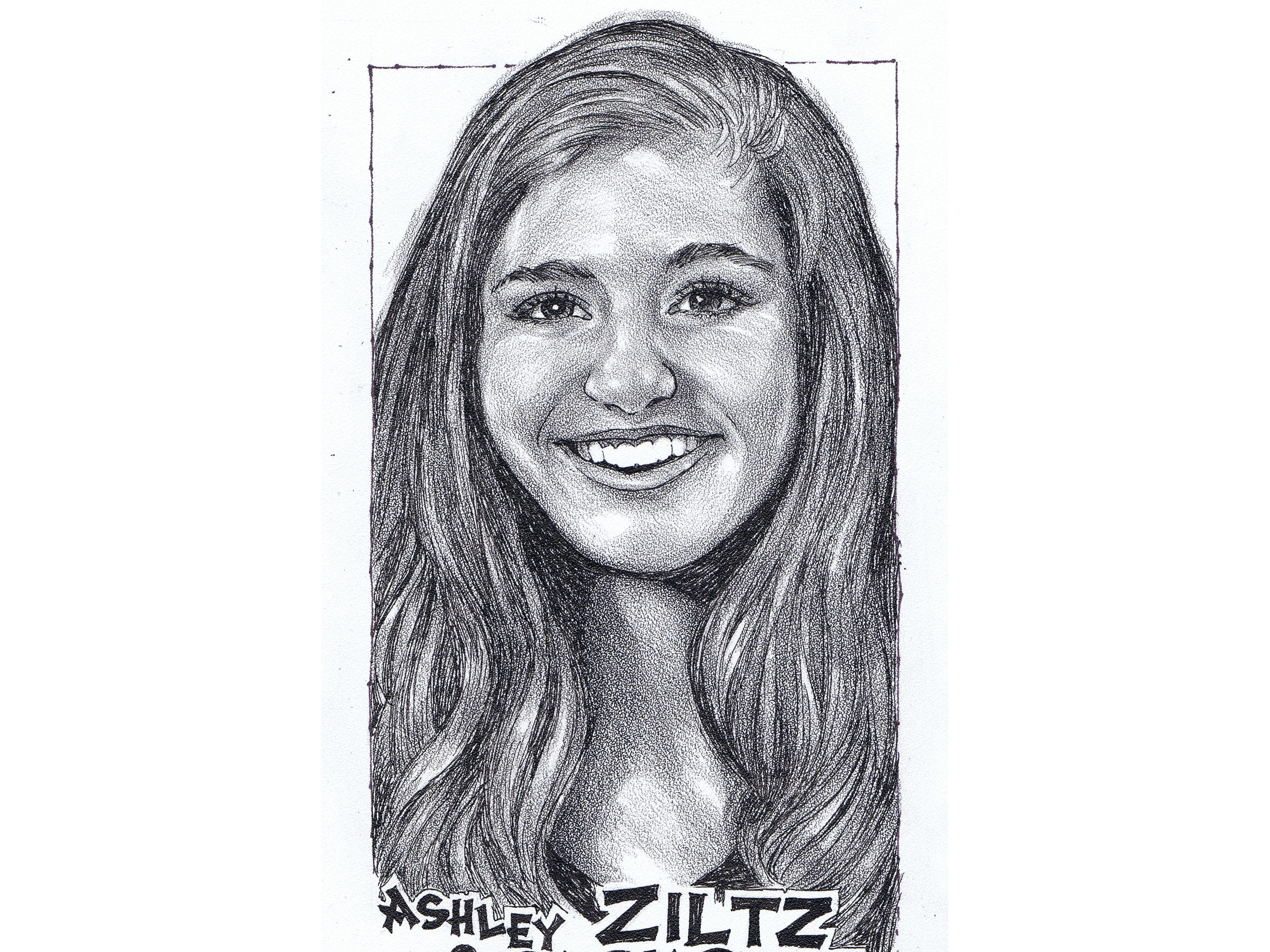 Ashley Ziltz, Park Ridge volleyball
