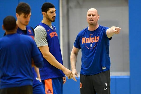 Knicks Practice