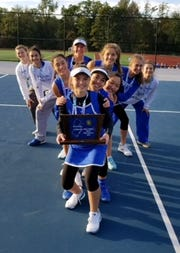 Holy Angels girls tennis