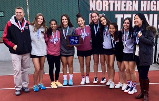 Northern Highlands girls tennis