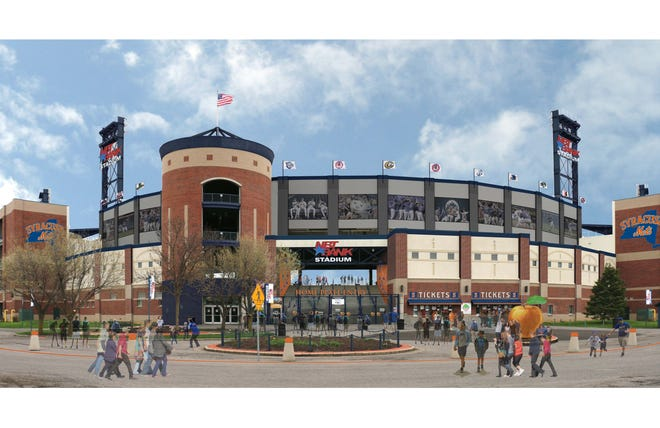 A look at what the Syracuse Mets' stadium will look like.