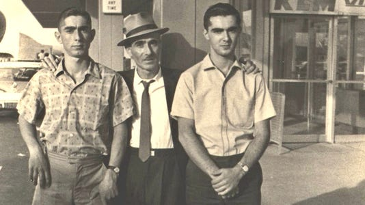 Pizza Shop Prod Still 9 Fred Charlie Dad 1966 Rudy's Pizza
