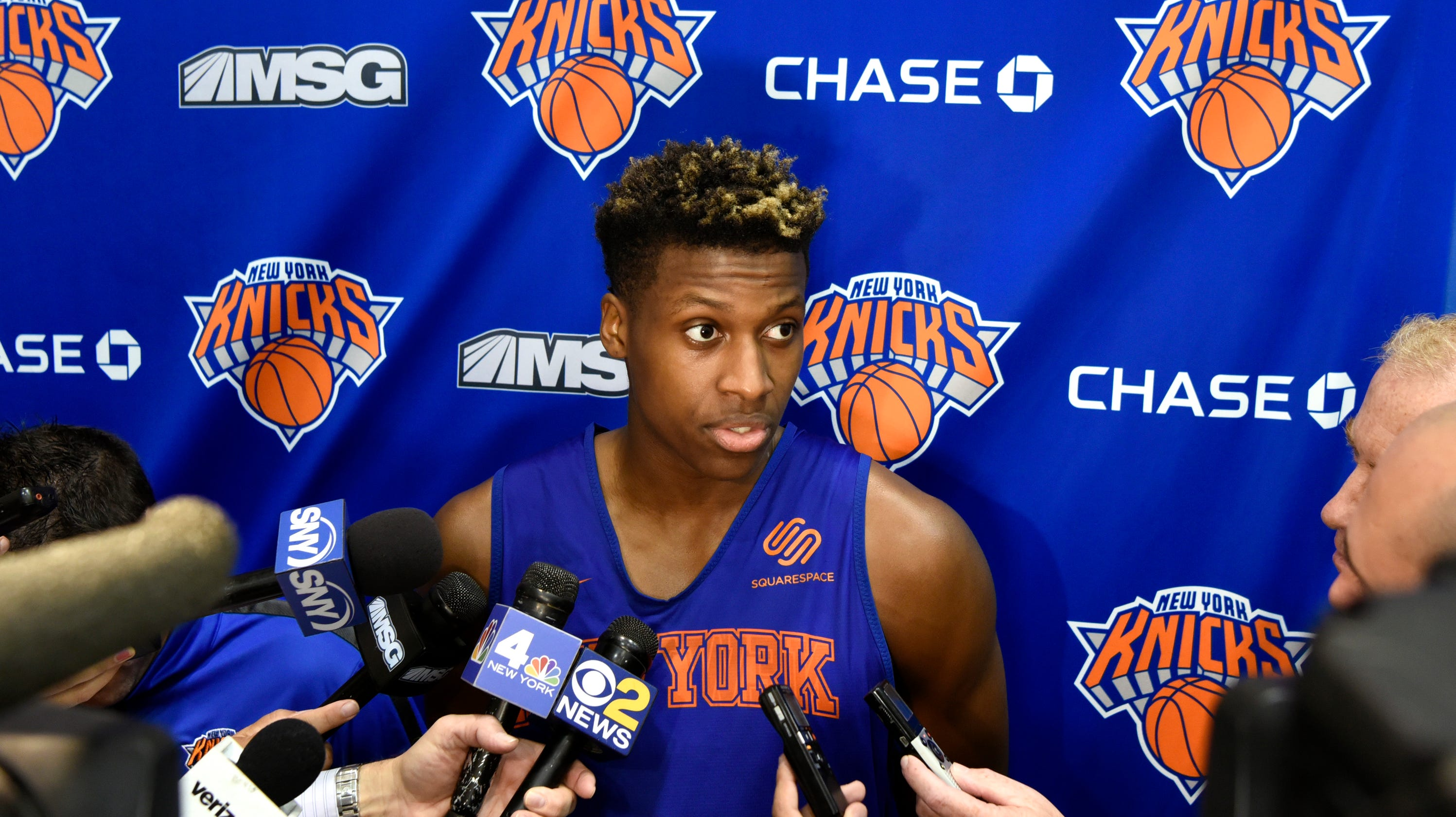 wholesale dealer 2b6e1 8b10e New York Knicks: Frank Ntilikina, Kevin Knox and our season ...