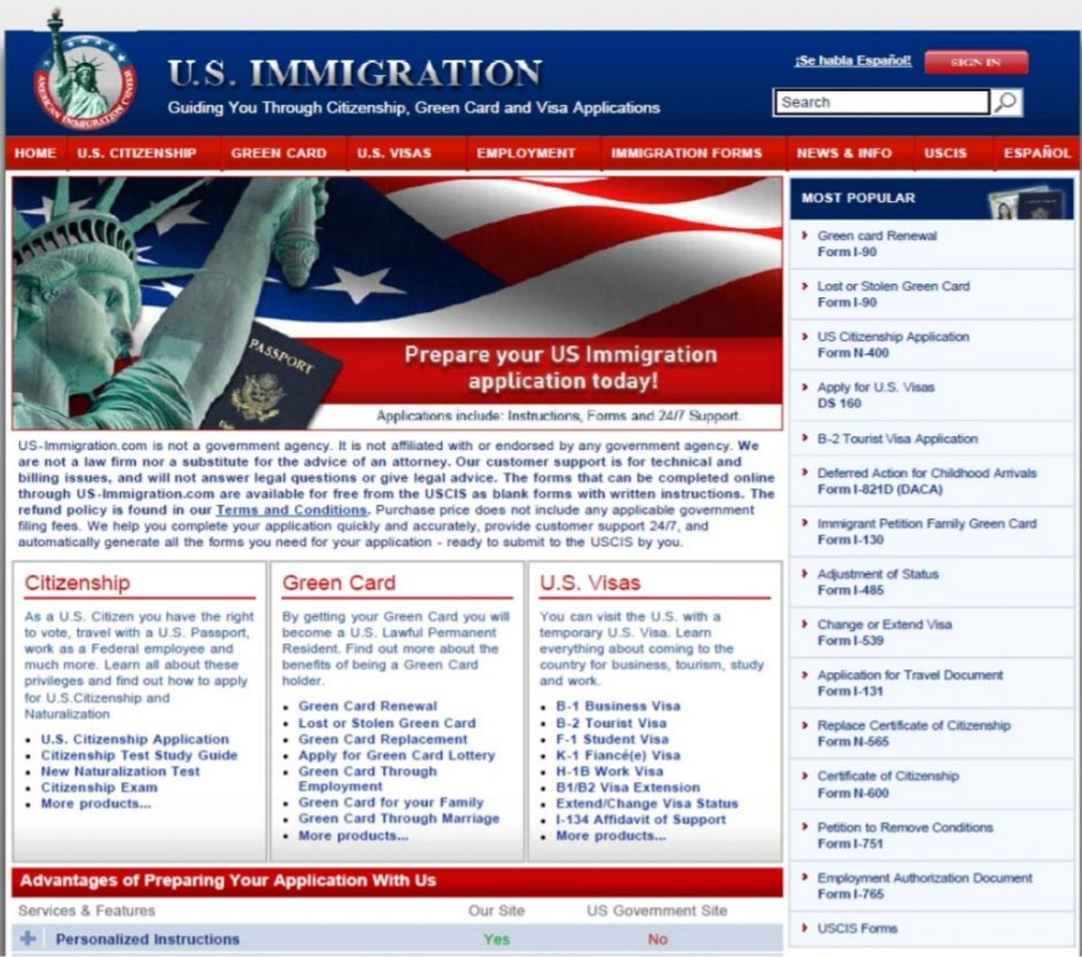 Forms Direct fined $2 2 million in alleged online immigration scam