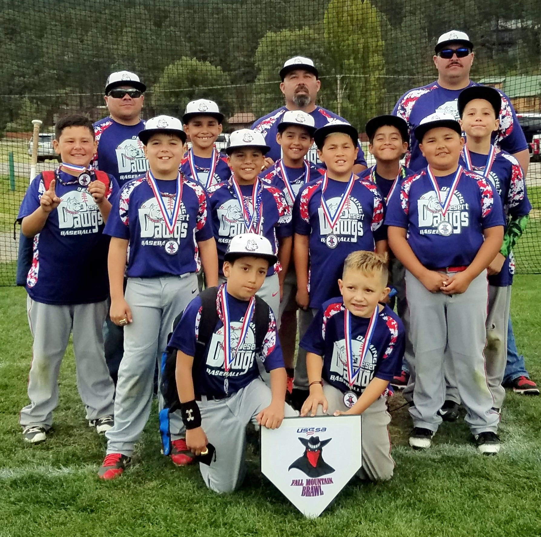 Desert Dawgs youth traveling baseball team hits the tournament trail