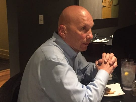 Republican United States Senate candidate Mick Rich visited Carlsbad Oct. 15. During a dinner at Yellow Brix Restaurant he offered thoughts on an Oct. 12 televised debate with Libertarian Gary Johnson and Democratic incumbent Martin Heinrich.