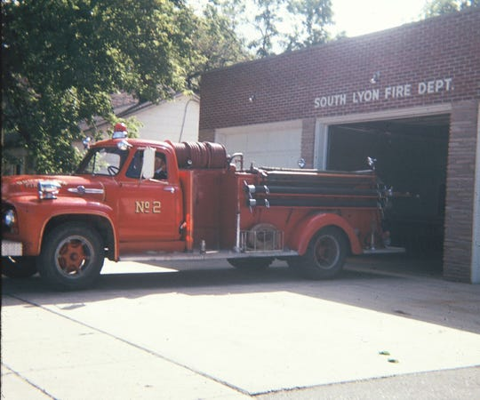 South Lyon fire engine.