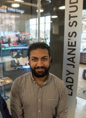 Jesse Dhillon built the studio at Lady Jane's in about a month, a pretty big job.