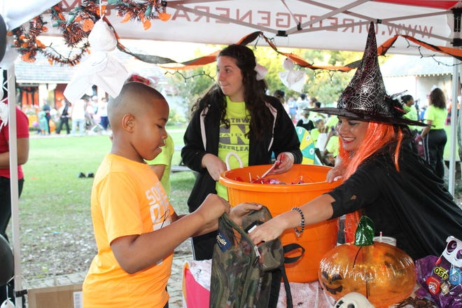 Trick or Treating in full swing at the 2017 event