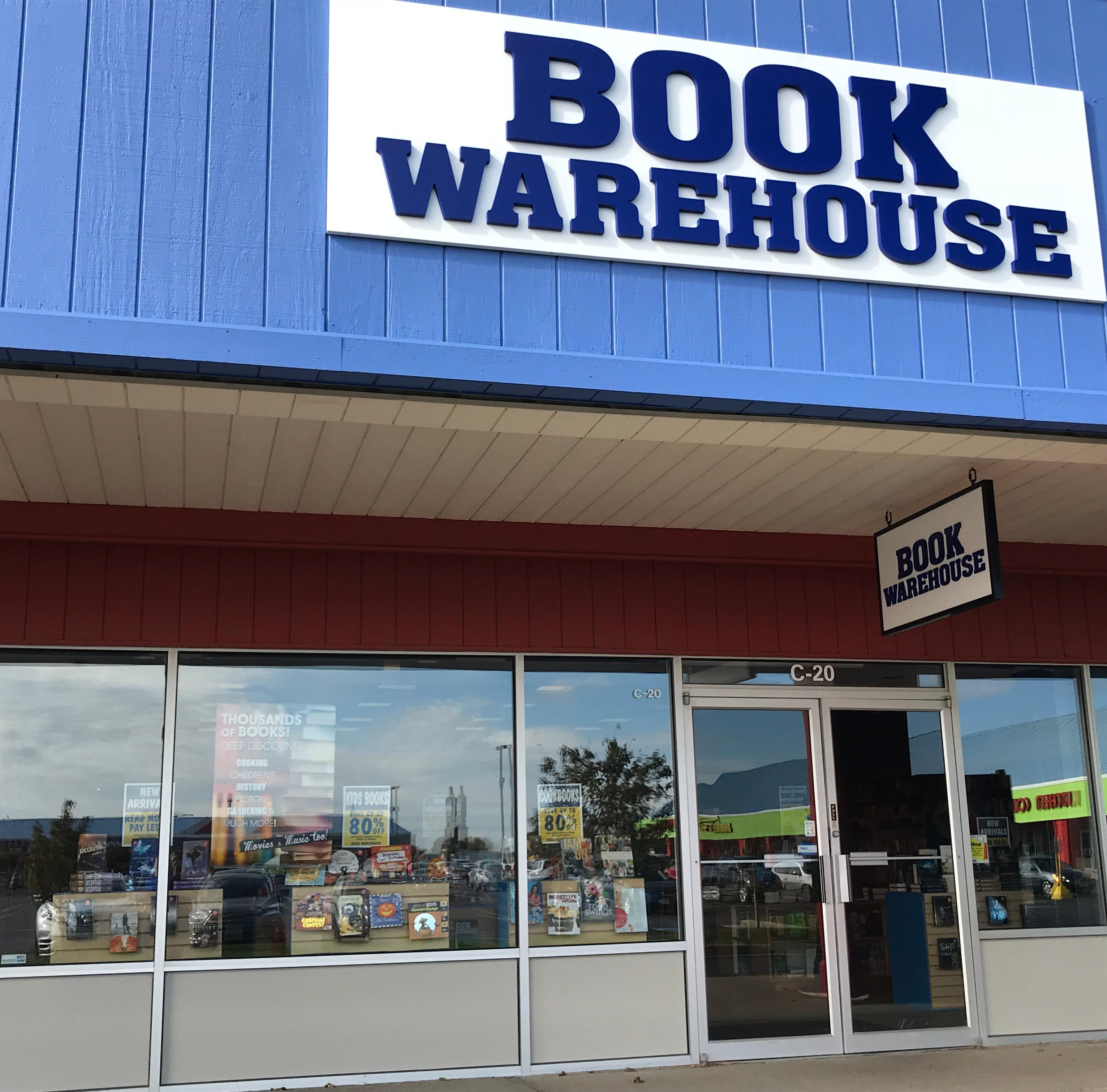 Streetwise: Book Warehouse, Oshkosh's newest and only bookstore, opened Friday