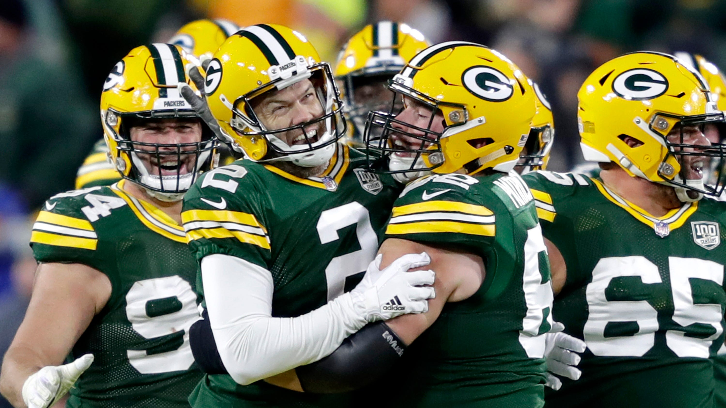 Quick takes: Packers rally, beat 49ers 33-30 on Mason Crosby last-second field goal