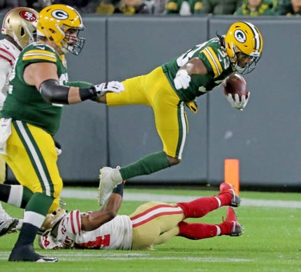 Who won the packers 49ers game last night