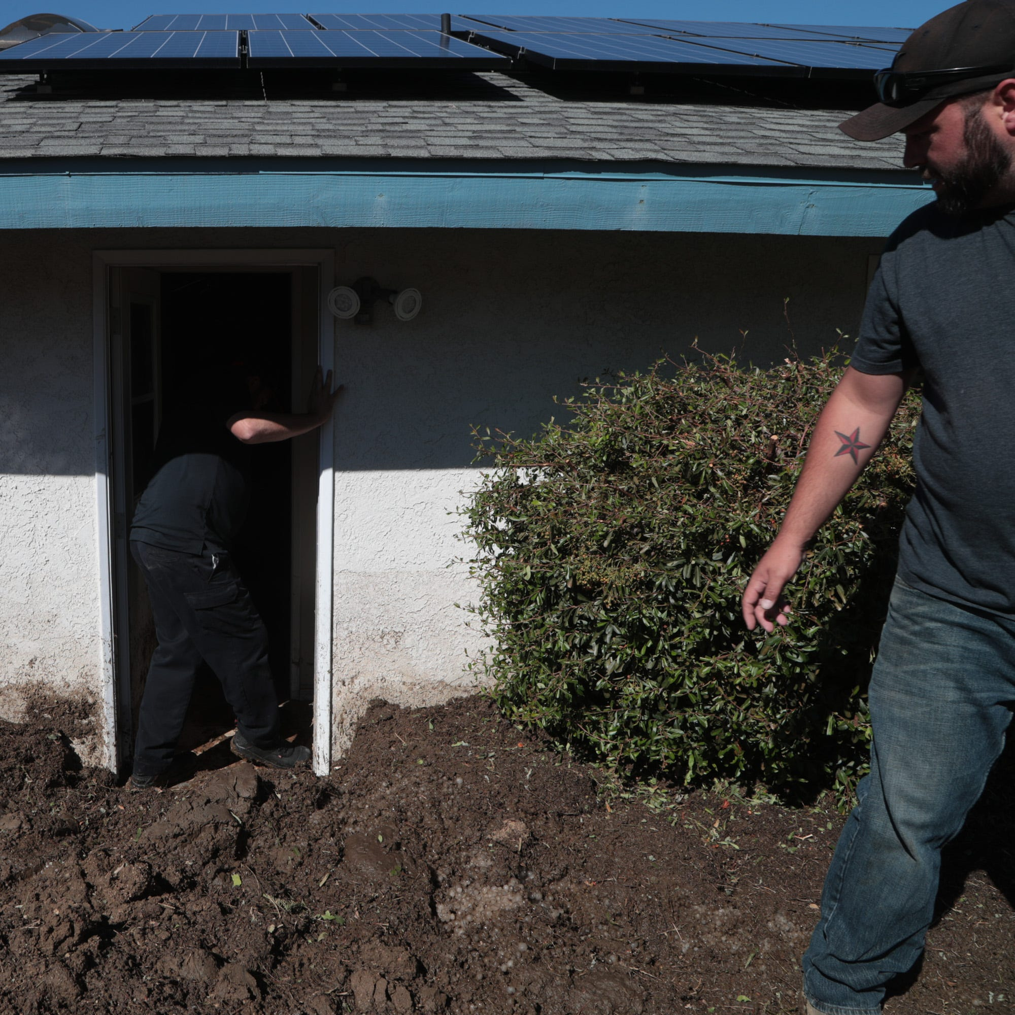 Rivers of mud ripped open deadbolts, flooded homes: Joshua Tree neighborhood recovers from storm