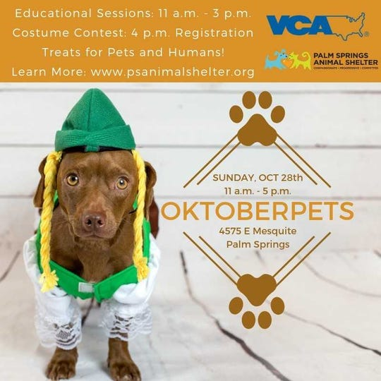 Oktoberpets comes to town Oct.28!