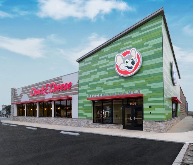 An example of the nationwide re-brand and remodel being rolled out by Chuck E. Cheese. The Pensacola location on Plantation Road will unveil similar changes during a Tuesday ribbon-cutting event.