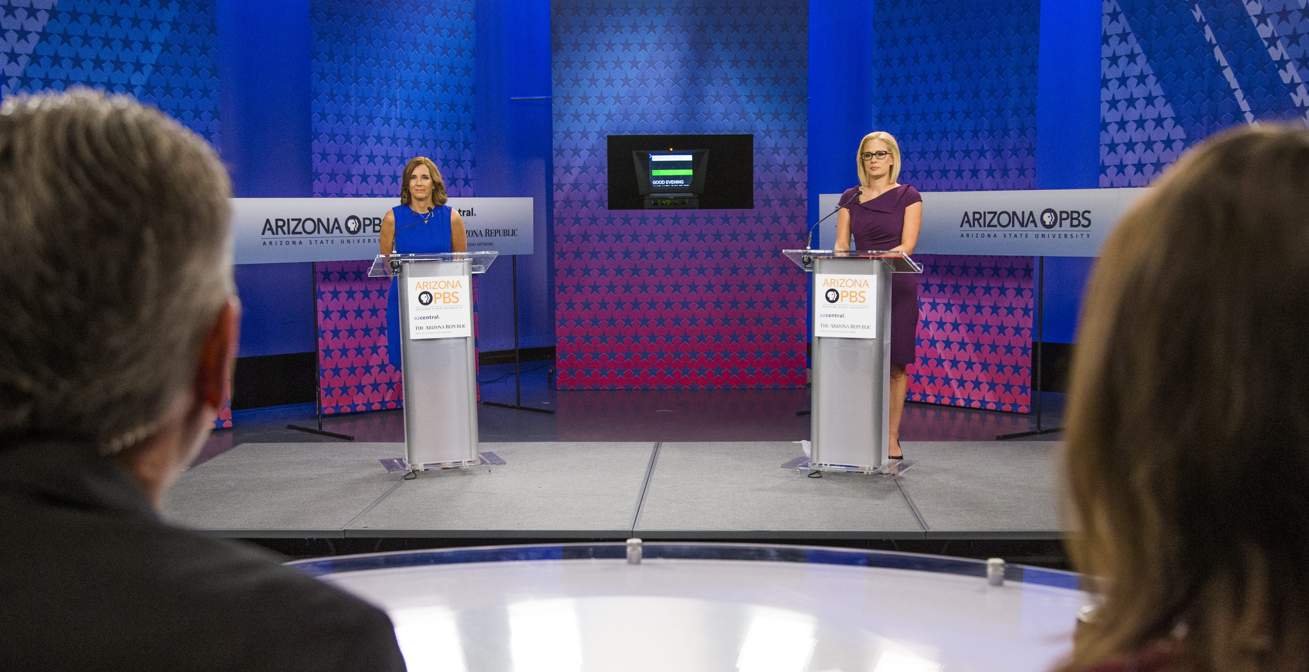 Debate expert breaks down body language, tone and tension during McSally-Sinema debate | Arizona Central